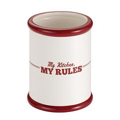 Cake Boss™ Countertop Accessories 'My Kitchen, My Rules' Tool Crock