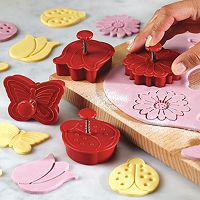 Cake Boss™ Decorating Tools 4-pc. Springtime Fondant Press Set
