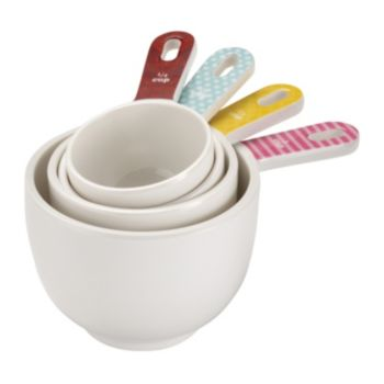 Cake Boss Countertop Accessories Festive 4-pc. Measuring Cup Set