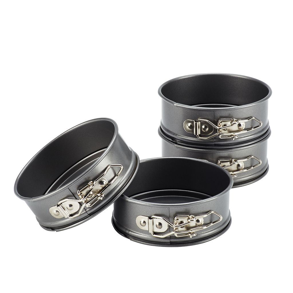 Cake Boss Specialty 4-pc. Nonstick Mini Springform Pan Set