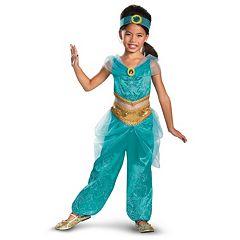 Disney Princess Jasmine Deluxe Sparkle Costume Toddler\/Kids by