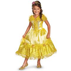 Disney Princess Belle Deluxe Sparkle Costume Toddler\/Kids by