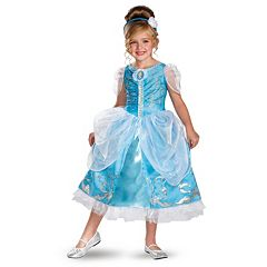 Disney Princess Cinderella Deluxe Sparkle Costume Toddler\/Kids by