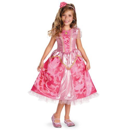Disney Princess Aurora Deluxe Sparkle Costume - Toddler/Kids