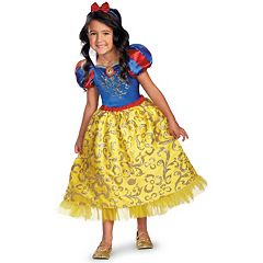 Disney Princess Snow White Deluxe Sparkle Costume Toddler\/Kids by