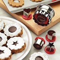 Cake Boss™ Decorating Tools 6-pc. Classic Linzer Cookie Cutter Set