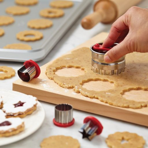 Cake Boss Decorating Tools 6-pc. Classic Linzer Cookie Cutter Set