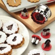 Cake Boss? Decorating Tools 6-pc. Holiday Linzer Cookie Cutter Set