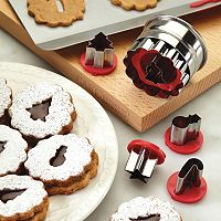 Cake Boss™ Decorating Tools 6 pc Holiday Linzer Cookie Cutter Set