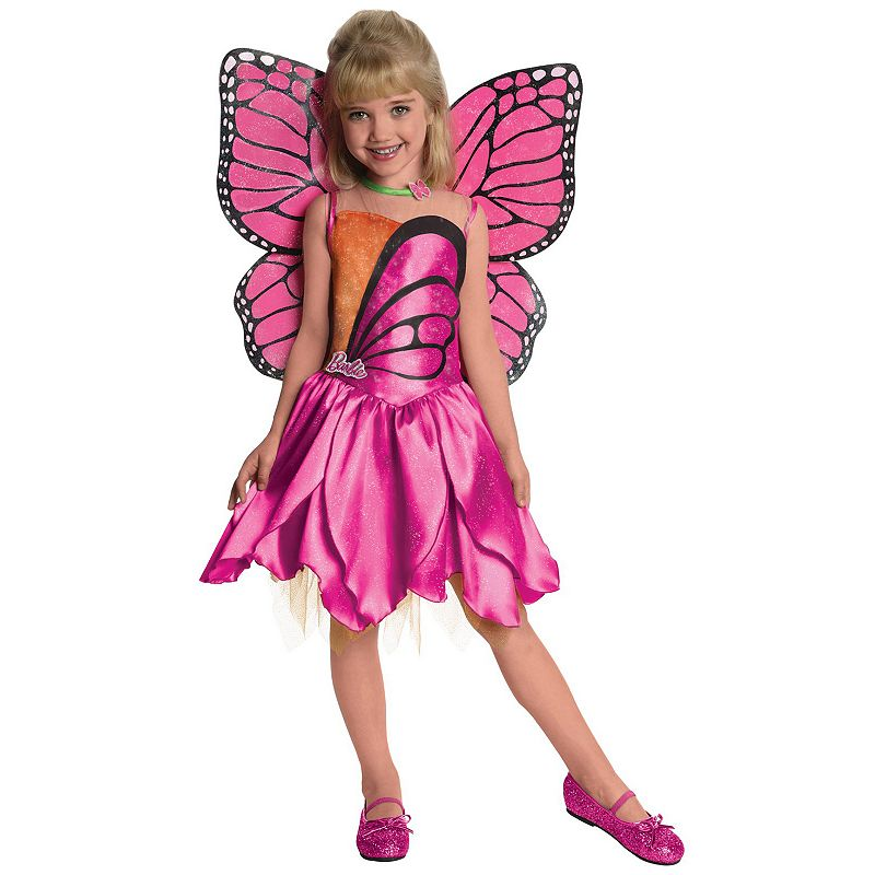 Barbie Deluxe Mariposa Costume - Toddler/Kids (Multicolor)