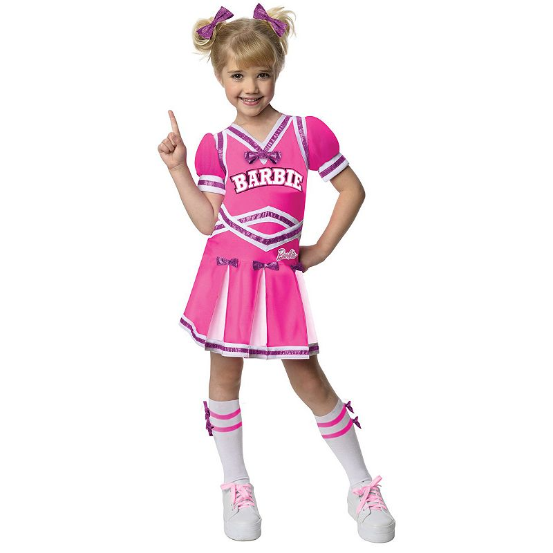 Barbie Cheerleader Costume - Toddler/Kids (Multicolor)