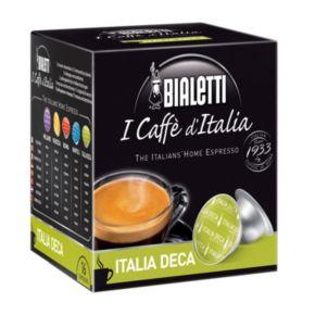 Bialetti I Caffe d'Italia Italia Deca Decaf Espresso Capsules - 16-pk.