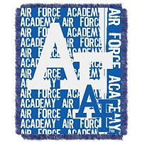 Air Force Falcons Jacquard Throw Blanket by Northwest