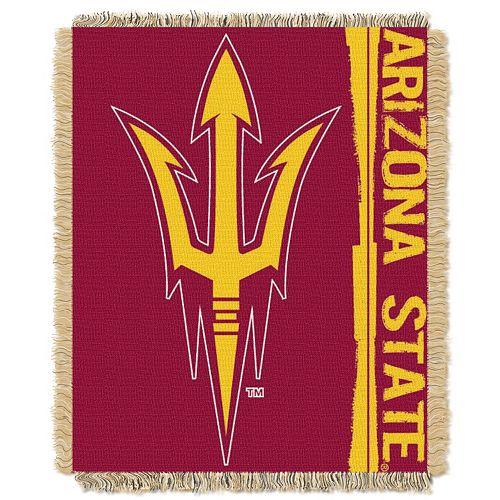 Arizona State Sun Devils Jacquard Throw Blanket by Northwest
