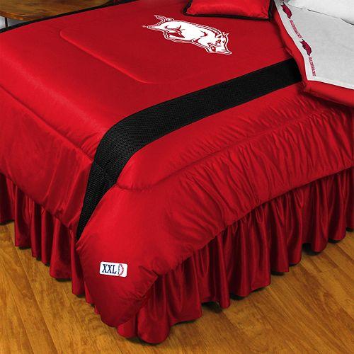 Arkansas Razorbacks Sidelines Comforter - Queen