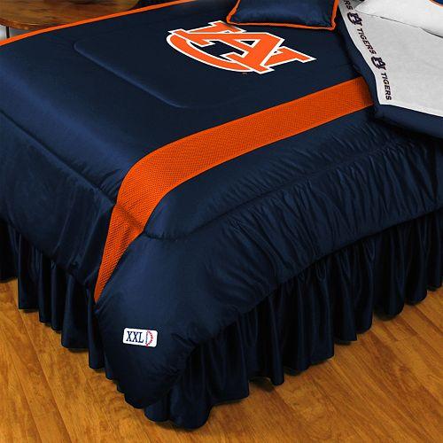 Auburn Tigers Sidelines Comforter - Queen