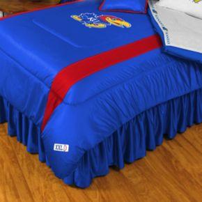 Kansas Jayhawks Sidelines Comforter - Queen