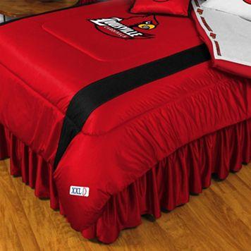 Louisville Cardinals Sidelines Comforter - Queen