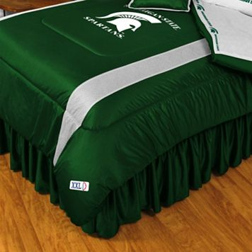 Michigan State Spartans Sidelines Comforter - Queen