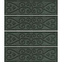 WaterGuard Scroll 4 pkIndoor Outdoor Stair Tread Set