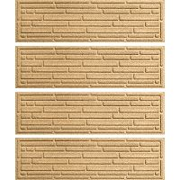 WaterGuard Broken Brick 4 pkIndoor Outdoor Stair Treads