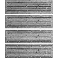 WaterGuard Broken Brick 4-pk. Indoor Outdoor Stair Treads