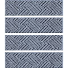 WaterGuard Diamond 4-pk. Indoor Outdoor Stair Treads