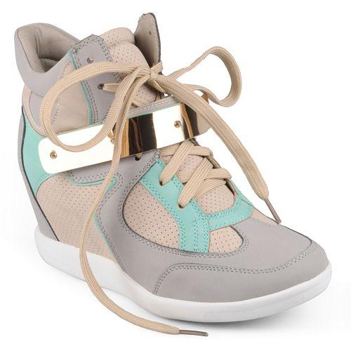 660ddf3c17f Journee Collection Micha Wedge Sneakers - Women
