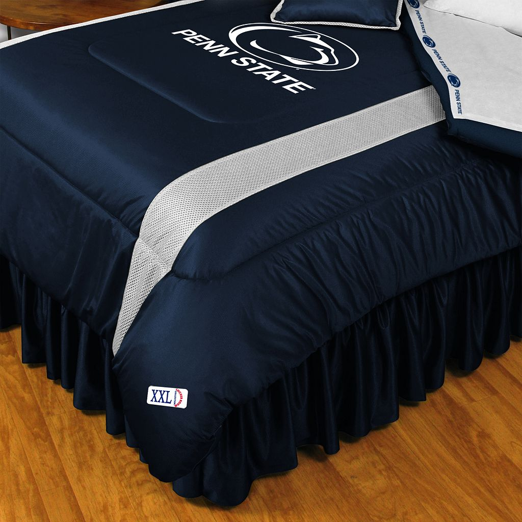Penn State Nittany Lions Sidelines Comforter - Queen