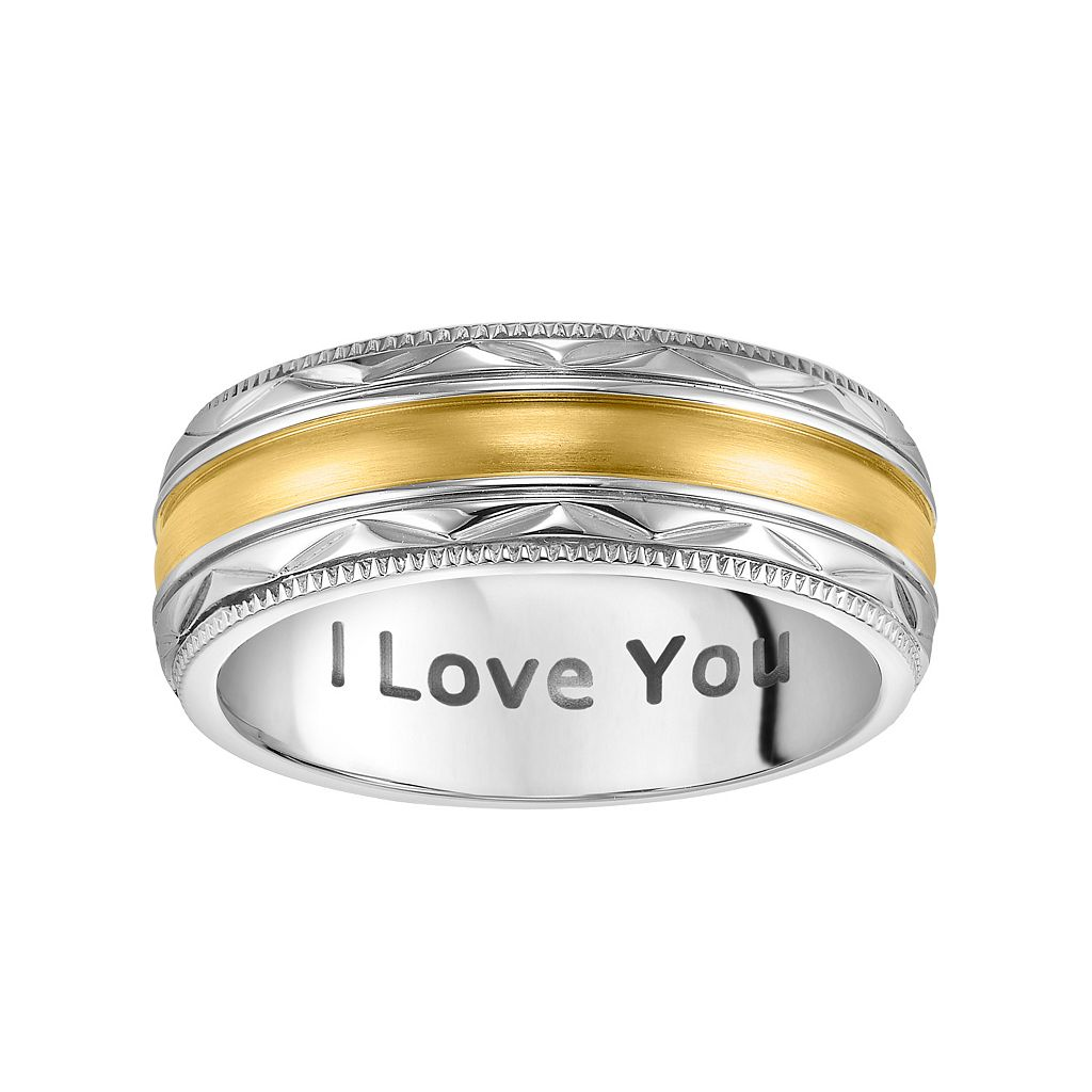 Cherish Always Stainless Steel Two Tone
