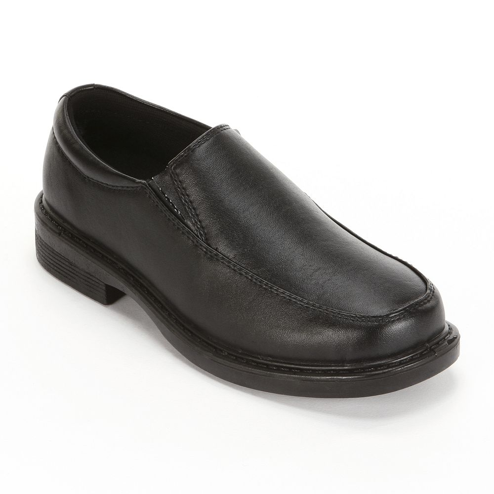 French Toast Matt Boys' Slip-On Uniform Shoes