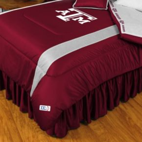 Texas A and M Aggies Sidelines Comforter - Queen