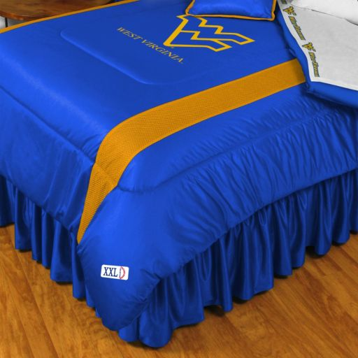 West Virginia Mountaineers Sidelines Comforter - Queen
