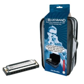 Hohner Blues Band 7-pc. Harmonica Set