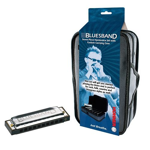 Hohner Blues Band 7-pc. Harmonica Set