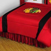 Chicago Blackhawks Sidelines Comforter - Queen