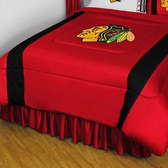 Chicago Blackhawks Sidelines Comforter - Queen