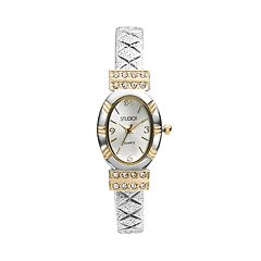 Studio Time Women's Two Tone Bangle Watch