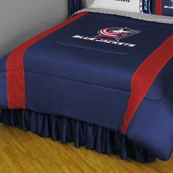 Columbus Blue Jackets Sidelines Comforter - Queen
