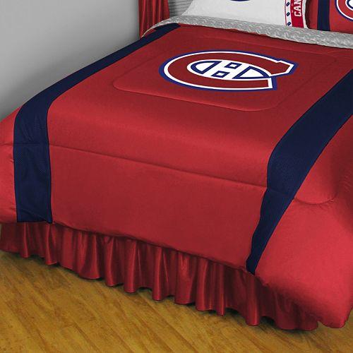 Montreal Canadiens Sidelines Comforter - Queen