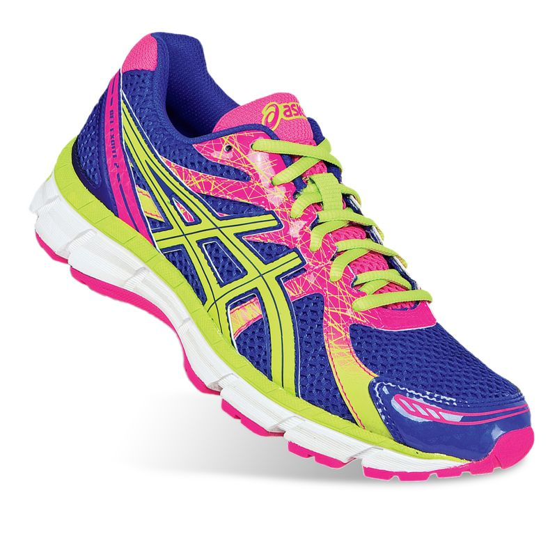 ASICS Blue GEL-Excite 2 Wide Running Shoes - Women