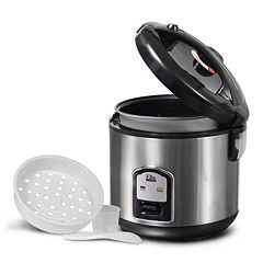Elite Platinum 20 cupStainless Steel Rice Cooker