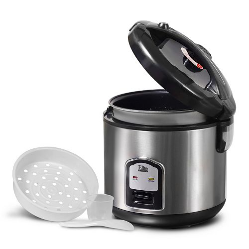 Elite Platinum 20-Cup Stainless Steel Rice Cooker