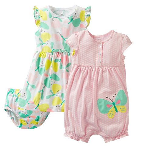 be7856215 Carter's Butterfly Dress & Creeper Set - Baby