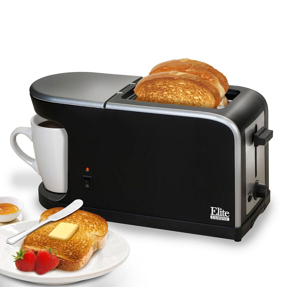 Elite Cuisine 2-in-1 Dual Breakfast Station