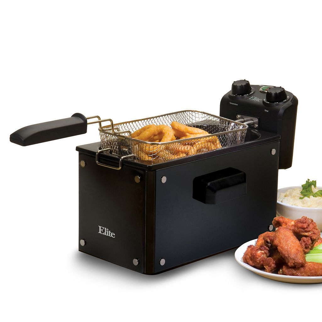 Elite Platinum 3.5-qt. Immersion Deep Fryer