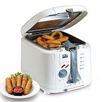 Elite Cuisine 8-cup Cool Touch Deep Fryer