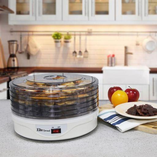 Elite Gourmet 5-Tray Rotating Food Dehydrator