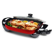 Elite Gourmet 12-in. Electric Skillet