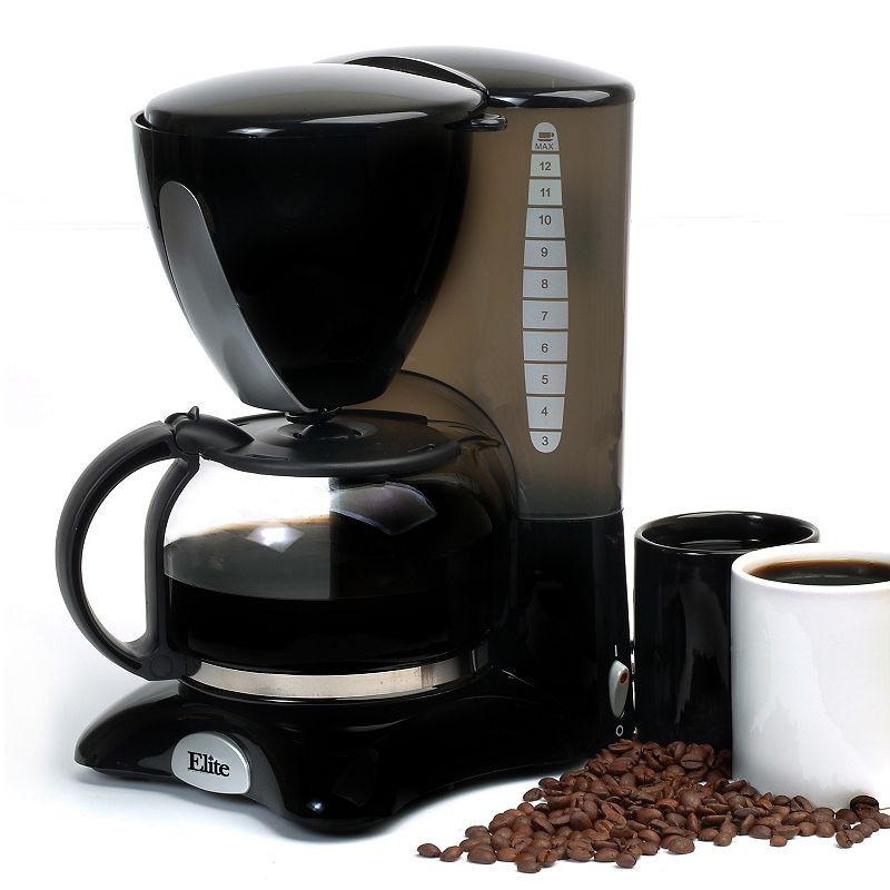 8 Cup Coffee Maker At Kohl S : Elite Cuisine 12-Cup Coffee Maker